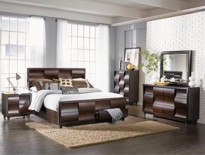 Fuqua Platform Storage Bed Set modern-beds