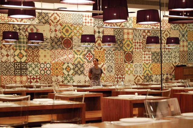 Encaustic Cement Tile mediterranean-wall-and-floor-tile