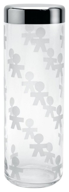 """Alessi """"Girotondo"""" Jar, Extra Large contemporary-food-containers-and-storage"""