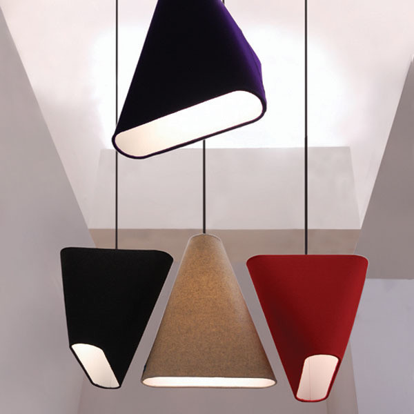 Brushed Nickel Pendant Lights MnM Shade - Modern - Lamp Shades - los angeles - by ...