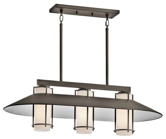 Low Voltage Outdoor Chandelier: Kichler Lighting 49811OZ Tavistock Contemporary Outdoor