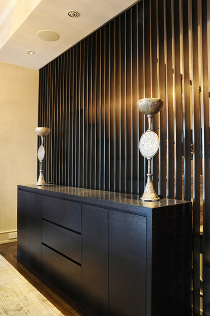 Bamboo Credenza. modern-cabinet-and-drawer-organizers