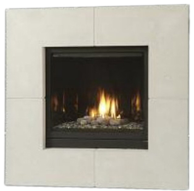 Majestic 400dvblnsc7 Solitaire Direct Vent Gas Fireplace Modern Indoor Fireplaces By