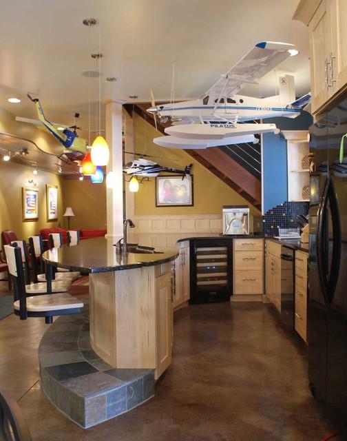 Tingley Lake Home traditional-kitchen