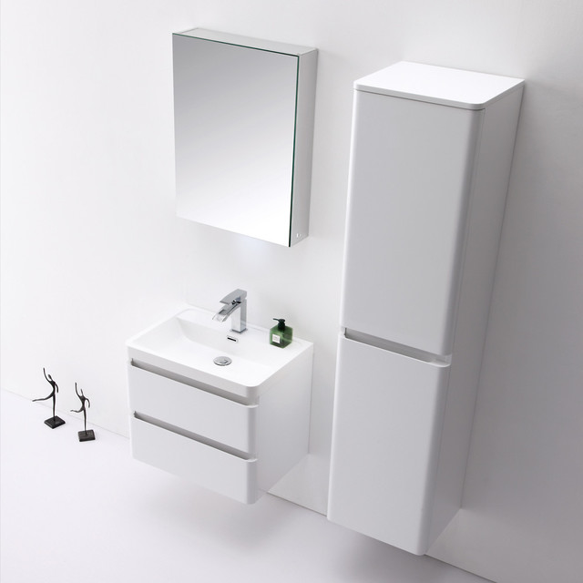 wall mounted designer bathroom vanity unit 600 contemporarybathroom