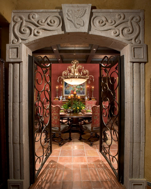 Old World - Fountain Hills mediterranean-dining-room