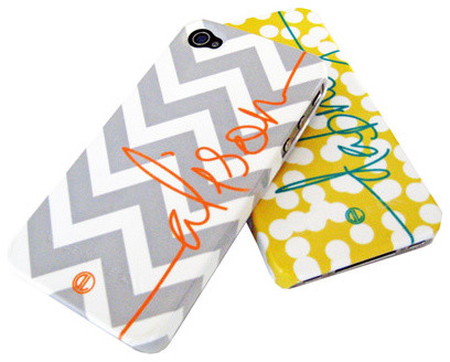Dabney Lee Personalized Cell Phone Case modern-accessories-and-decor