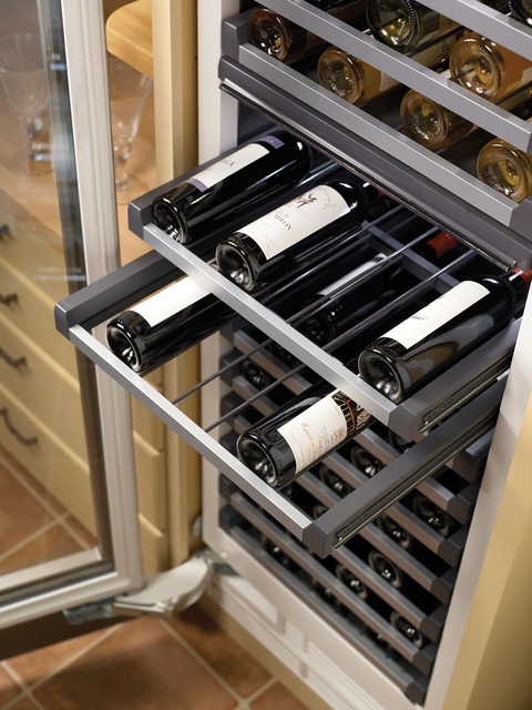 Thermador's Freedom Refrigeration Wine Storage contemporary-beer-and-wine-refrigerators