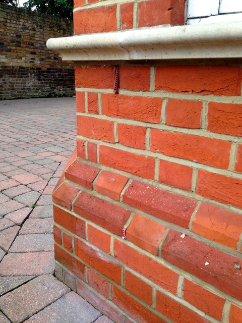 Red Brick - PLINTH DETAIL - Traditional - Exterior ...
