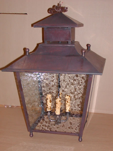 Old Point Hanging Lantern traditional-kitchen-lighting-and-cabinet-lighting