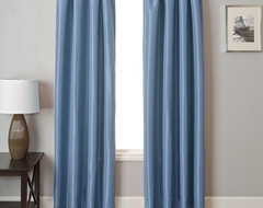 Blindsgalore Signature Drapery Panel: Energex Solid Blackout traditional curtains