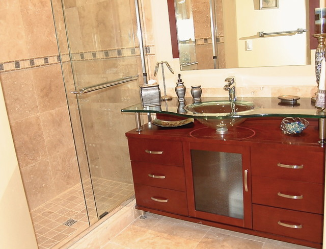 Customers Bathroom Remodeling Projects modern