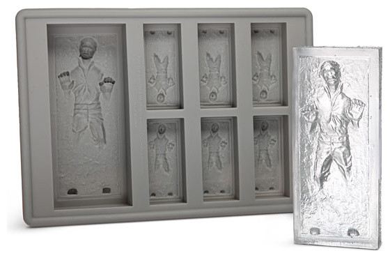Star Wars Han Solo in Carbonite Ice Cube Tray eclectic-specialty-kitchen-tools