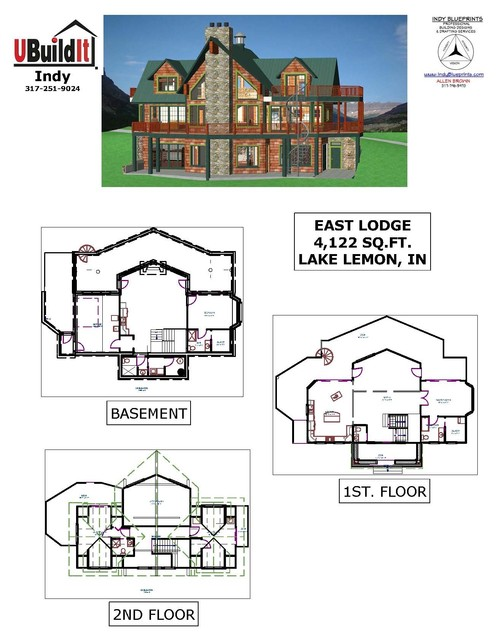 East Lodge Floor Plan Indianapolis By Ubuildit Indy
