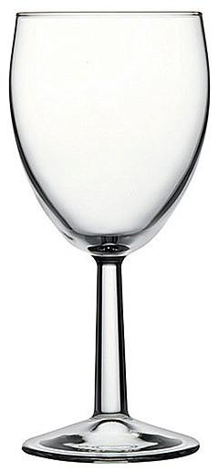 7.75H x 3.25T x 3.25B Banquet 15 oz Wine Glasses 12 Ct contemporary-wine-glasses