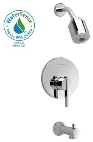 American Standard Berwick FloWise T430507 Shower Trim contemporary-bathroom-faucets