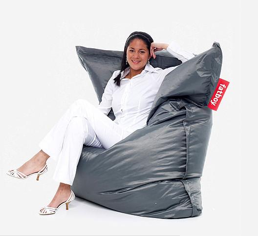 Fatboy Original Lounge Bag - in Dark Grey modern-chairs