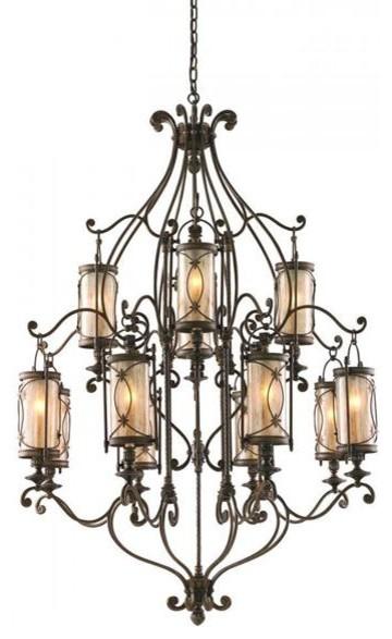 Corbett Lighting 67-012 St Moritz 12 Light Chandelier chandeliers
