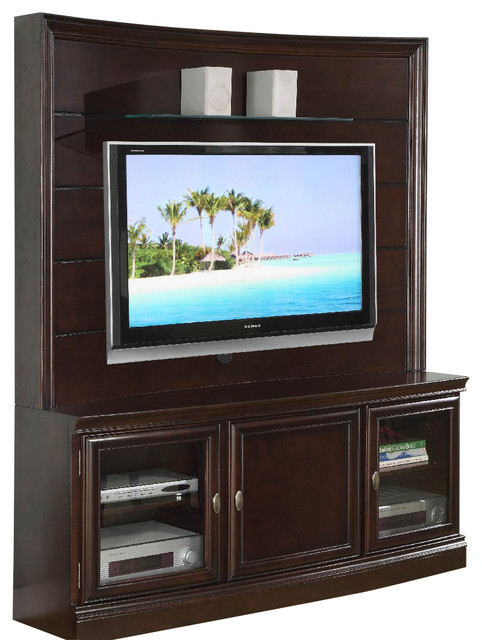 homelegance koppaz 60 inch tv stand traditional entertainment centers and tv stands by. Black Bedroom Furniture Sets. Home Design Ideas