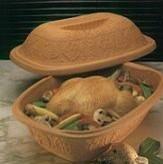 romertopf clay bakerClay Baker -14 lb. Capacity modern-bakeware