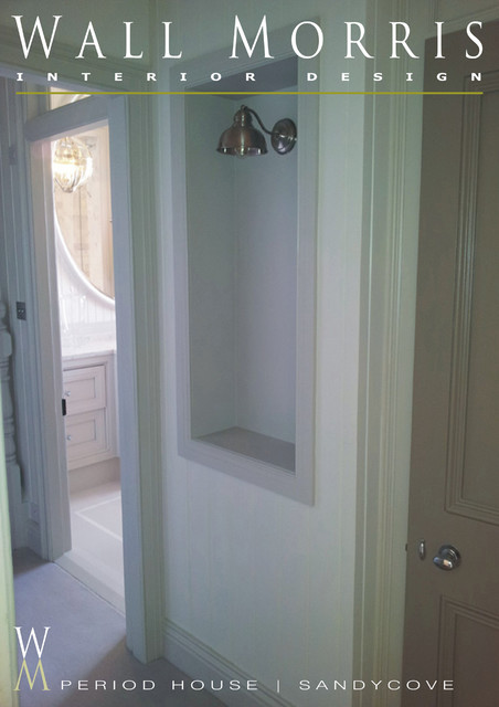 bathroom wing period house sandycove traditional bathroom dublin by wall morris design. Black Bedroom Furniture Sets. Home Design Ideas