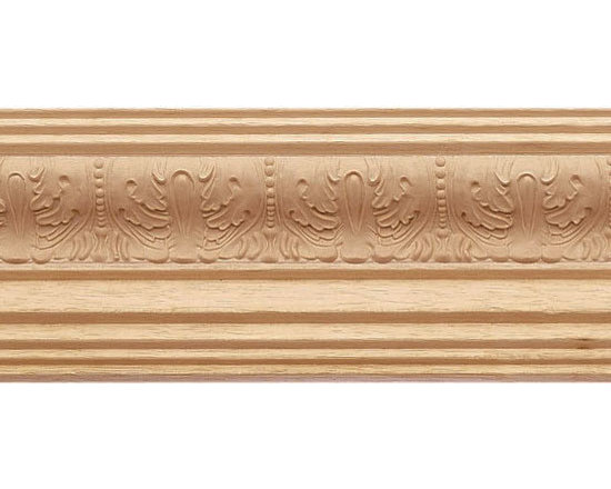 "Inviting Home - Lafayette Crown Molding - wood crown molding 3-1/4""H x 3-1/4""P x 4-5/8""F sold in 8 foot length (3 piece minimum required) Decorative Bass wood crown molding specifications Outstanding quality crown molding profile milled from high grade kiln dried solid bass wood. High relief ornamental design crafted using fine grade stainable composition material. Crown molding sold unfinished and can be easily stained painted or glazed. The installation of the wood crown molding should be treated the same manner as you would treat any wood molding: all molding should be kept in a clean and dry environment away from excessive moisture. acclimate wooden moldings for 5-7 days. when installing wood crown moldings it is recommended to nail molding securely to studs and glue all mitered corners for maximum support."