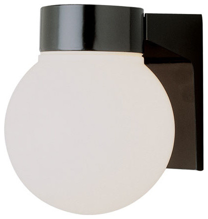 Regency Energy Efficient 6 Inch Globe Light -Black - contemporary ...
