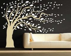 Modern Tree Decals modern-decals
