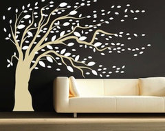 Modern Tree Decals modern-wall-decals