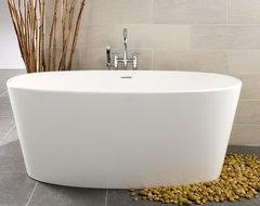 BOV01-66 bathtub contemporary-bathtubs