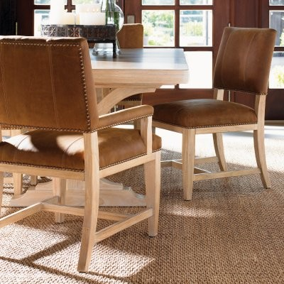 Tommy Bahama by Lexington Home Brands Road to Canberra Brisbane Arm Chair modern-dining-chairs