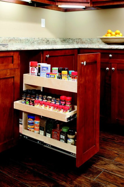 Roll Out Spice Rack - other metro - by ShelfGenie of West ...