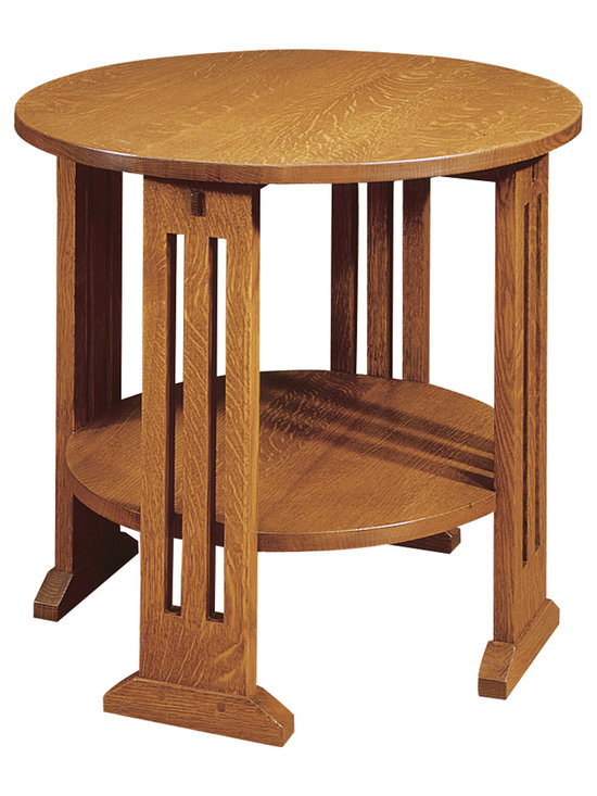 Stickley Round End Table 89/91-664 -