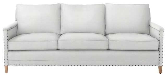 Spruce Street Sofa - upholstered w/ nailheads traditional sofas