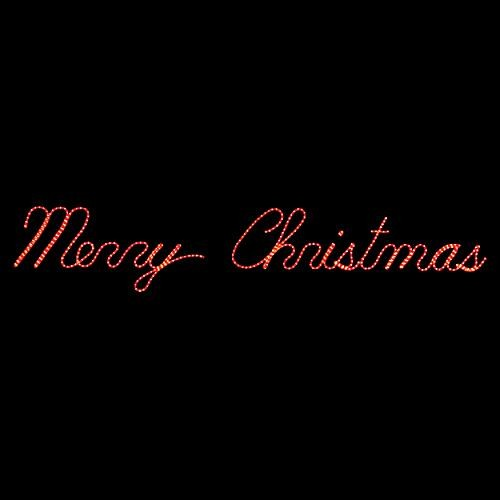 Merry Christmas LED Lighted Sign - Christmas Lights - Traditional - Holiday Decorations - by ...