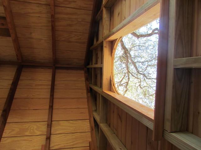 Cedar Shake Tree House traditional-landscape