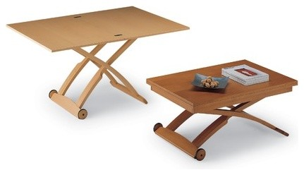 Fixed and Extendable Mascotte Coffee Table modern-dining-tables