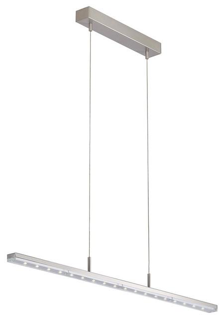 Linear Led Vanity Lights : 9618 LED Linear Suspension - Modern - Bathroom Lighting And Vanity Lighting - by Lightology