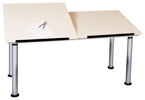 Shain Adjustable Height Split Top Drafting Table