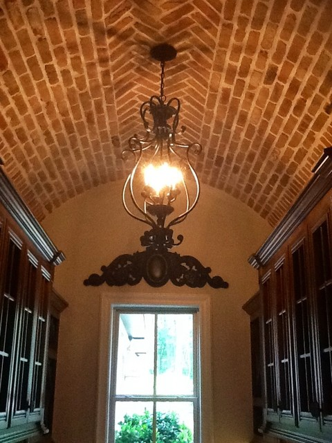 Country French. Estate traditional-wine-cellar