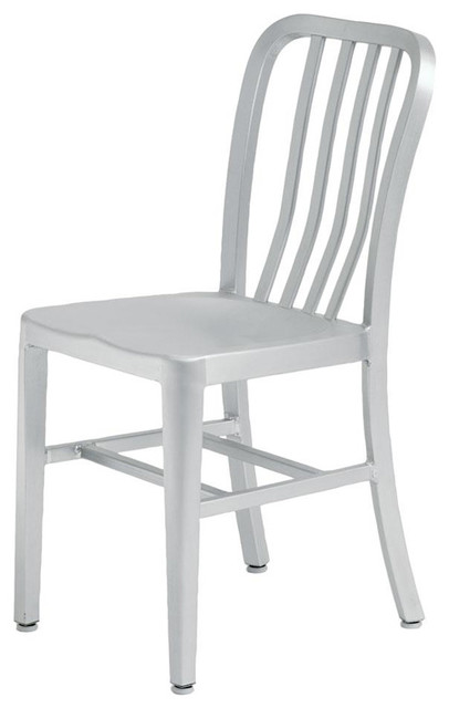 Soho Aluminum Dining Chair Indoor or Outdoor by Nuevo HGGA161 Modern