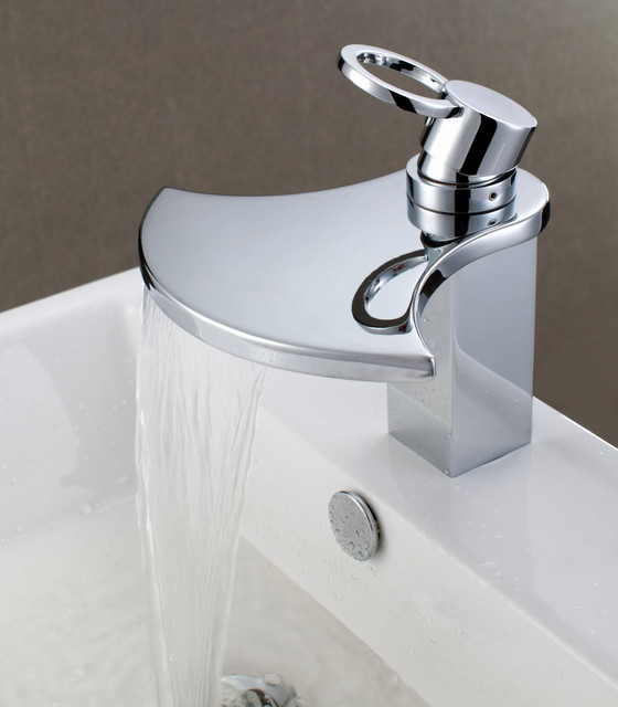 Plumbing Bathroom Sink : ... Bathroom Sink Faucet - Modern - Bathroom Sink Faucets - by HomeThangs