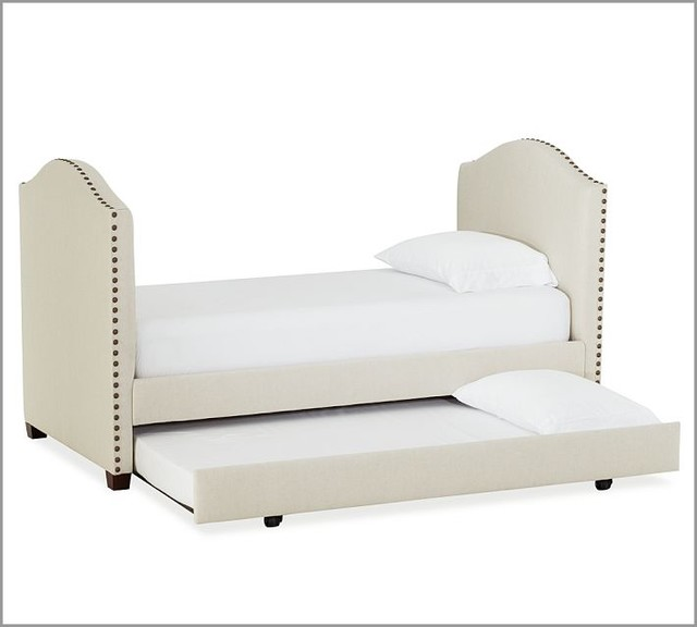 Raleigh Upholstered Daybed with Trundle modern-daybeds
