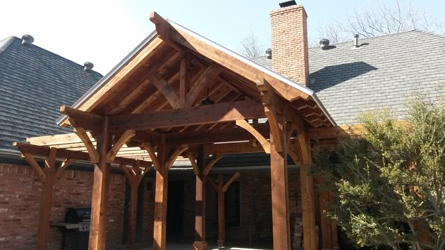 Gable Pergola Mediterranean Other Metro By Stater