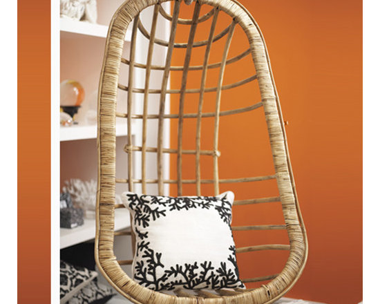 Hanging Rattan Chair by Two's Company® -