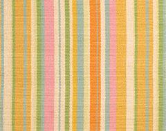 Tangerine Dream Woven Cotton Rug modern-kids-rugs