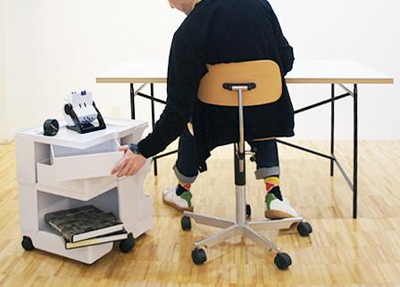 Mobile Office Organizer - Modern - Filing Cabinets - san francisco - by Stardust Modern Design