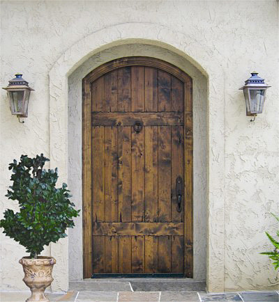 Country french exterior wood entry door collection dbyd for Hardwood front doors
