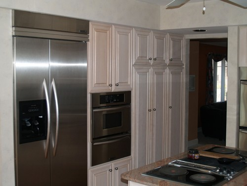 Kitchen - refinish, reface, replace? And What about those Soffits?