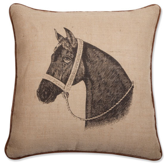 thomas Paul Horse Pillow eclectic-pillows